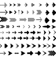Arrow Brush Collection vector image