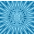 Blue glowing beams background vector image