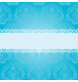 blue square napkin vector image