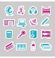 children room stickers vector image vector image