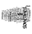 sometimes word cloud concept vector image vector image