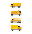 truck icon design template isolated vector image vector image