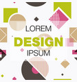 abstract background texture design bright poster vector image vector image