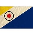 Bonaire paper flag vector image