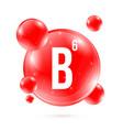 creative of vitamin b6 vector image