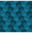 geometrical square pattern background vector image