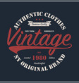 new york vintage brand graphic for t-shirt vector image vector image