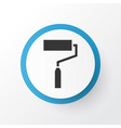 roller brush icon symbol premium quality isolated vector image vector image