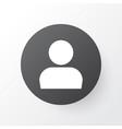 profile icon symbol premium quality isolated user vector image