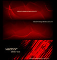 abstract banner for facebook poster design vector image