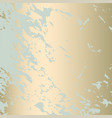abstract marble gold pattern vector image vector image