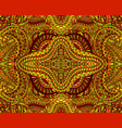 amazing tribal shamanic kaleidoscope ornamental vector image