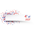 Independence Day banner vector image vector image