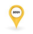 Location Bern vector image