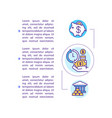 saving money concept icon with text vector image vector image