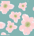 spring summer flowers seamless pattern vector image vector image
