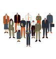business people team professional employee vector image vector image