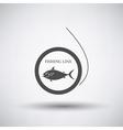 Fishing Line Icon vector image vector image