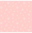 Gentle butterflies Seamless pattern vector image