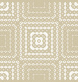 golden geometric ornamental seamless pattern vector image vector image