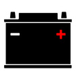 12v car battery vector image