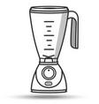 blender in line art style isolated on white vector image
