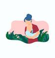 breastfeeding vector image vector image