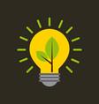 bulb ideas vector image vector image