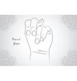 Element yoga Apan Vayu mudra hands with mehendi