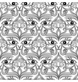 Ethnic eyes seamless pattern ornamental abstract