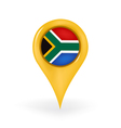 Location South Africa vector image vector image