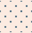 minimalist geometric floral seamless pattern vector image vector image