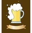 tankard of beer vector image