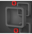 Abstract Gray Squares vector image