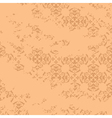 aged beige background - light pattern vector image