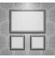 Empty frames on the wall vector | Price: 1 Credit (USD $1)
