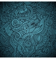 fashion decorative doodles background vector image vector image