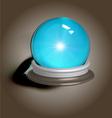 magic crystal ball vector image vector image