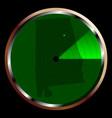 radar on alabama vector image vector image