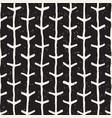 simple ink arrow lines geometric seamless pattern vector image