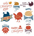 thanksgiving7 vector image vector image