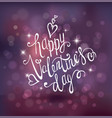 valentines day background hand drawing vector image vector image