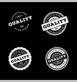 100 guaranteed quality product stamp logo design vector image