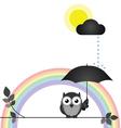 Changeable weather vector image vector image