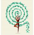India yoga leaf tree