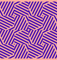 pink and purple geometric seamless pattern vector image