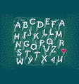 romantic cipher text i have totally fallen 4 u vector image