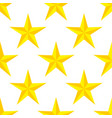 seamless pattern stars on white background vector image vector image