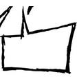 speech doodles vector image