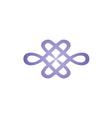 abstract decorative beauty fashion logo vector image vector image